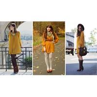 2012 Kışının Öne Çıkan Rengi: Hardal Sarısı