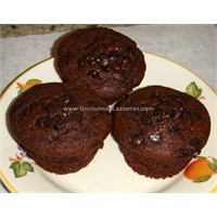 Fındıklı Çikolatalı Küçük Kek (Muffin)