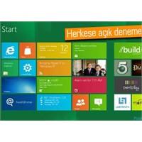Windows 8 Kullanıcı Önizlemesi Yayınlandı