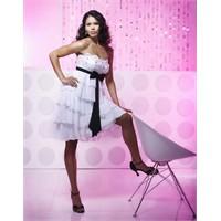 Straplez Elbise Modellerine Örnekler