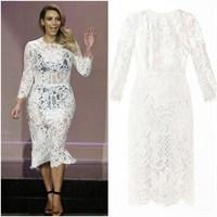 Kim Kardashian'ın Dolce & Gabbana Elbisesi