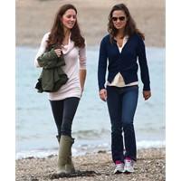 Kate Middleton'un Sahil Yürüyüşü