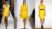 2010 İlkbaharının Rengi : Sarı