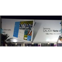 Samsung Galaxy Note Pro Afişlere Girdi