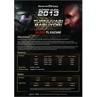 60.000 Tl Ödüllü Counter Strike Turnuvası!