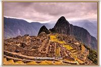Peru deki Tarihi Yer: Machu Picchu