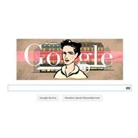 Google 9 Ocak 2014 Doodlesi Simone De Beauvoir