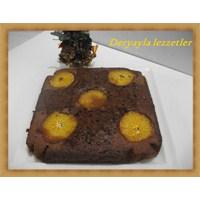 Bol Çikolatalı Portakal Soslu Kek