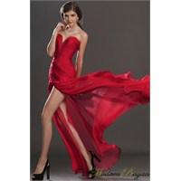2013 Kırmızı Renk Abiye Modelleri