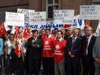 Sağlık Çalışanlarından Harç Protestosu