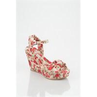 Dolgu Topuk Ayakkabı Modelleri 2012