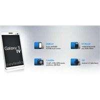 Galaxy S4'ün Tasarımı Ve Fazlası Sızdı
