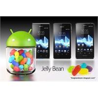 Sony'in Jelly Bean Güncellemesi Alacak Modelleri?
