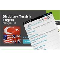 Android İçin Türkçe - İngilizce Sözlük