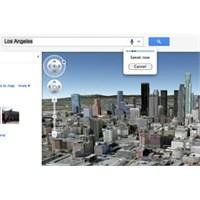 Google Haritaları Üç Boyutlu Oluyor