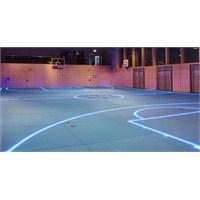Led Işıklı Spor Salonu