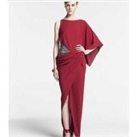 2013 Asimetrik Kesim Elbise Modelleri