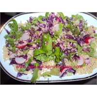 Bulgurlu Doyurucu Salatam