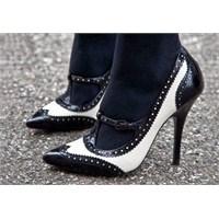 Trend: Siyah Beyaz Ayakkabı