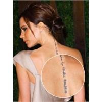 Victoria Beckham Dövmeleri Ve Anlamları