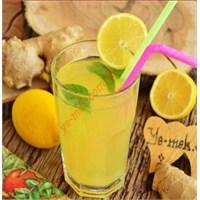 Zencefilli Limonata (Resimli)