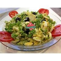 Resimli Yumurta Salatası Tarifi - Gurme