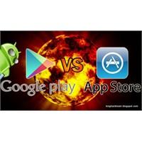 Google Play - App Store Savaşı Kızışıyor!