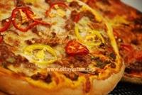 Biftekli Pizza Tarifi