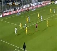 Siena 2-1 Udinese Maçında Maccarone nin Attığı Süp