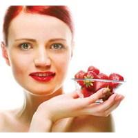 Cilde Güzellik Veren Sebze Ve Meyveler