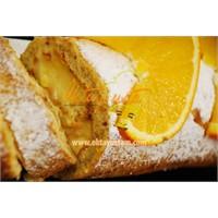 Portakallı Cevizli Rulo Pasta Tarifi