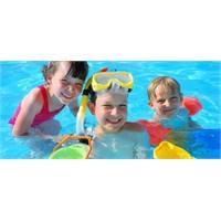 Yüzme bilmeyen çocukta, bağırsak enfeksiyonu riski
