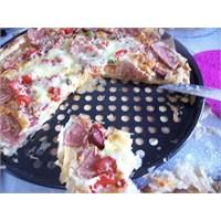 Anneminelinden Bakla Yufkasi İle Pizza
