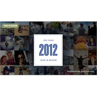Facebook' Dan 2012 Yılına Özel Uygulama!