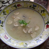 Mantar Çorbası...