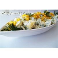Yoğurtlu Patates Salatası ( Mutfak Ve Tatlar)