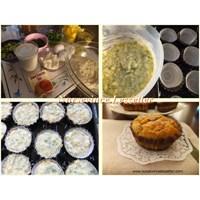Patatesli ,peynirli Top Kekler