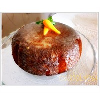 Portakallı Sulu Ve Havuçlu Kek