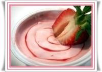 Çilekli Yoğurt Tatlısı - Diyet