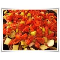 Fırında Köfteli Patlıcan