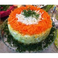 Kalıpta Yumurtalı Patates Salatası
