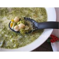 Yoğurtlu Nohutlu Brokoli Çorbası.....Disalce
