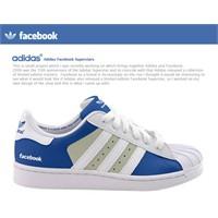 Adidas Facebook Superstar Ayakkabı Konsepti