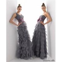 Gri Abiye Elbise Modelleri 2014