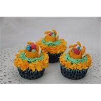 Yumurta Sepetli Muffinler