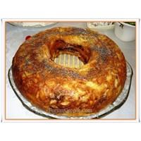 İspanaklı - Patlıcanlı Simit Böreği