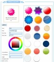 Çevrimiçi  Web 2.0 Butonlar Hazırlayın