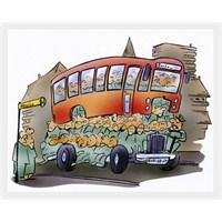 Otobüste Gofret Cambazlığı!