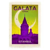 Türkiye Posterleri: Galata Kulesi