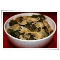 Öğle Yemeği Seçeneği: İspanaklı Makarna